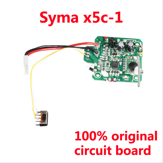 100% Original Syma x5 / x5c / x5c-1 circuit board quadrocopter remote control helicopter replacement parts free tracking number