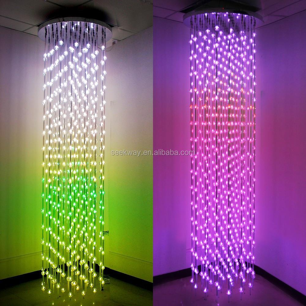 Seekway Rgb Full-color Led Matrix Display With Crystal Ball