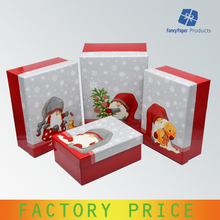 New Design Christmas Lift Off Lid Gift Box