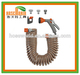 33-Foot Spiral Coil Garden Hose and Nozzle Set