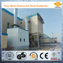 High efficiency fume extraction system for induction furnace