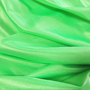 Shiny polyester fabric in knitted dazzle tex for graduation apparel