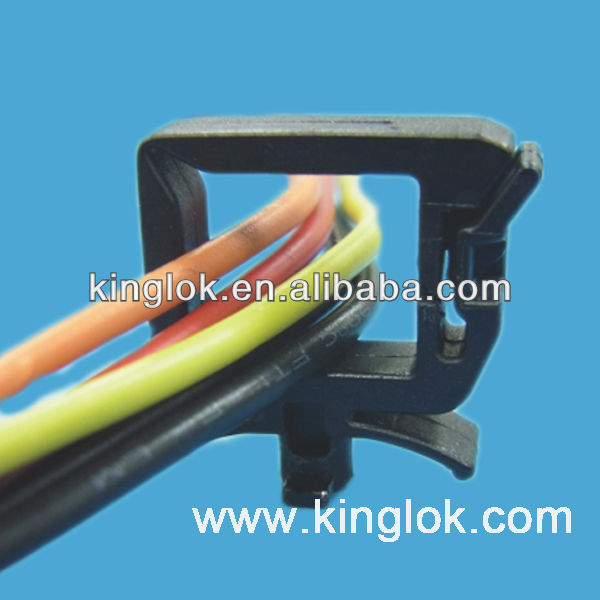 High Quality Nylon Wire Saddle Locking Top Cable Tie Holder - Buy ...