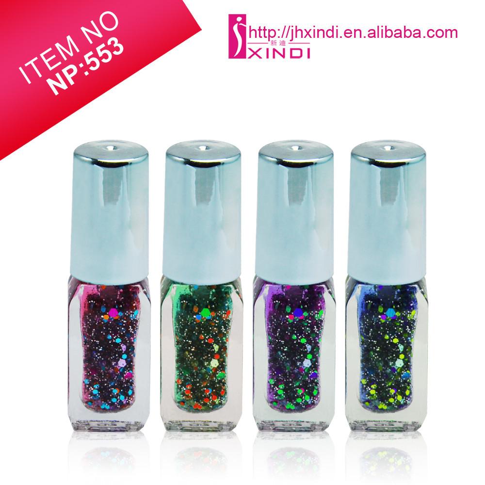 5ml Square Bottle Glitter Nail Polish Brands - Buy Glitter Nail ...