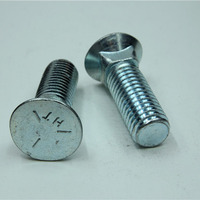 Slotted Half Round Head Bolt Screw