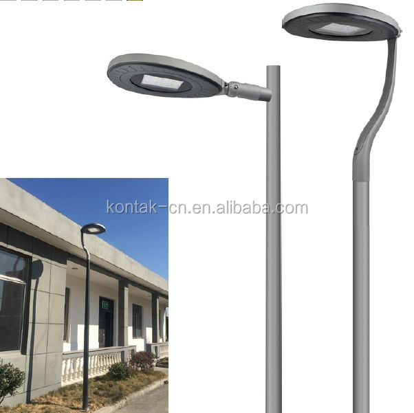 5 years warranty round landscape area 60w outdoor lamp led post