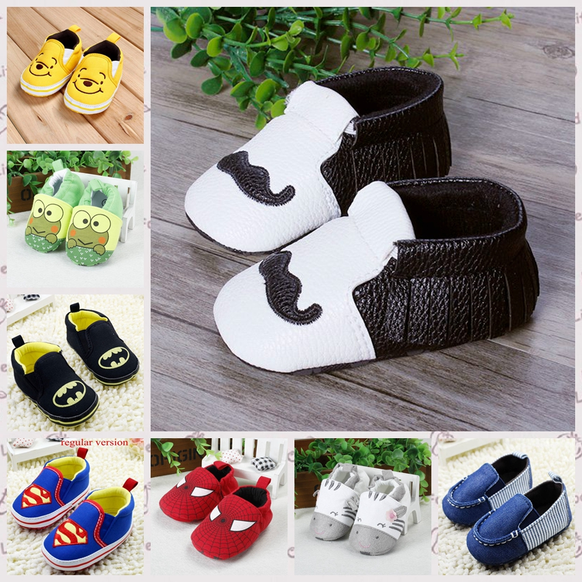 Spring/autumn Baby Shoes,newborn Toddler boys/girls Soft Sole Shoes For First Walkers size 11 12 13 cm R2235