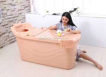 grande taille portable baignoire de qualit alimentaire pp5 mat riel en plastique baignoire pour. Black Bedroom Furniture Sets. Home Design Ideas