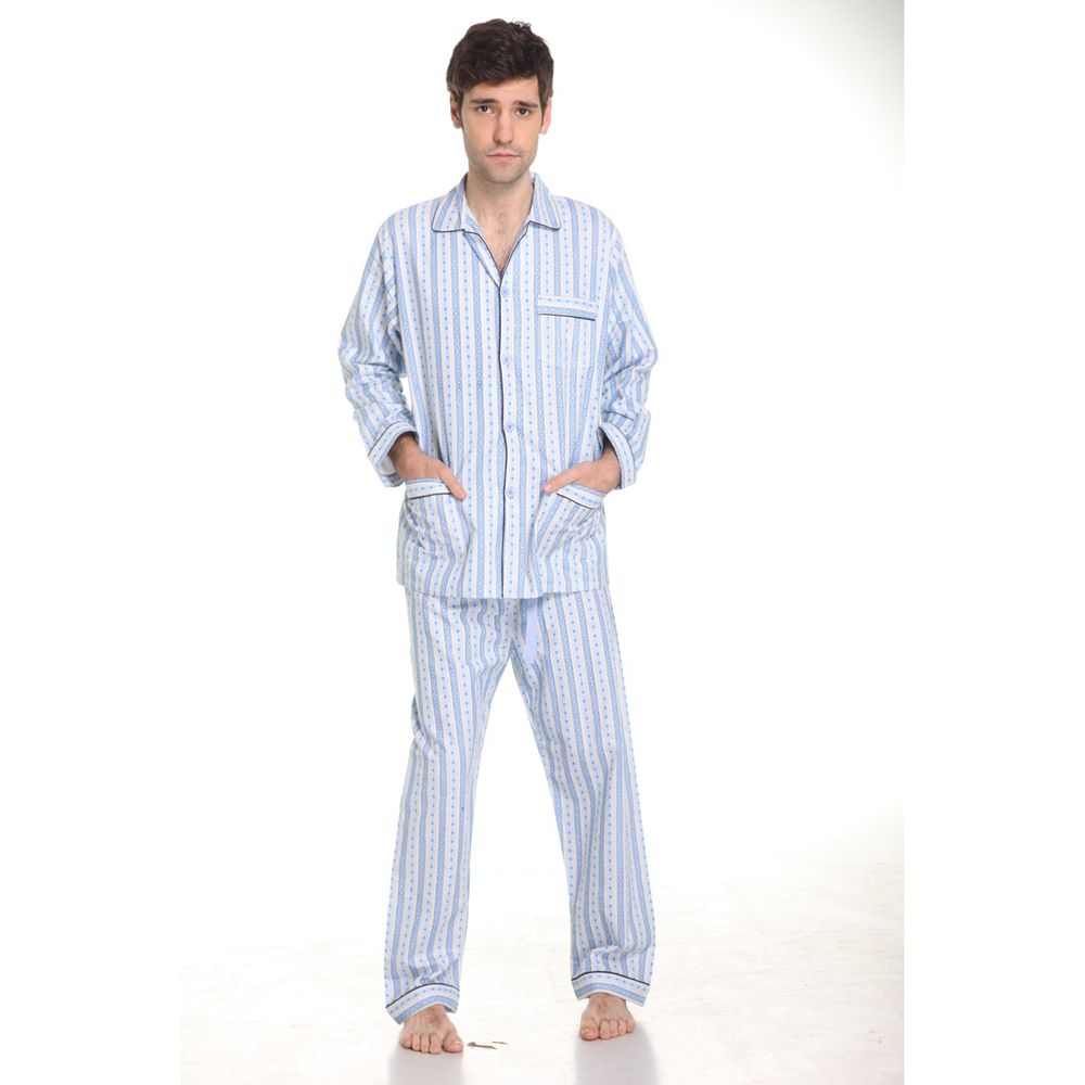 nightgowns striped flannel