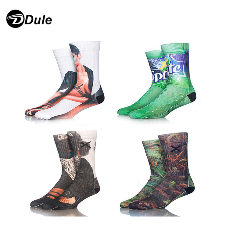 DL-I-1281 sock dye sublimation printing sublimation sock man custom sublimate sock