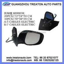 MIRROR A:5 CABLES ELECTRIC B:7 CABLES ELECTRIC FOR TOYOTA AXIO FIELDER 06