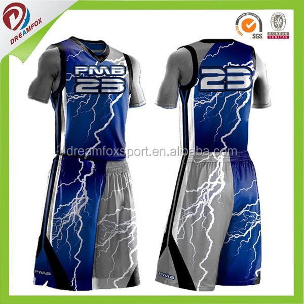 Dry Fit Cheap Sublimation Custom Basketball Jersey Logo Design ...