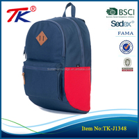 "high class student school bag 15"" inch laptop backpack china wholesale market"