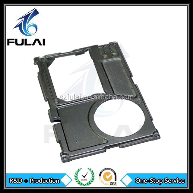 OEM die casting zinc plating electronic metal enclosure cover components