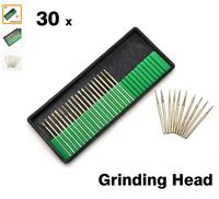 30pcs/set Nail Drill Bits Diamond Grinding Head Nail Art Tools for Manicure Pedicure Machine Accessories