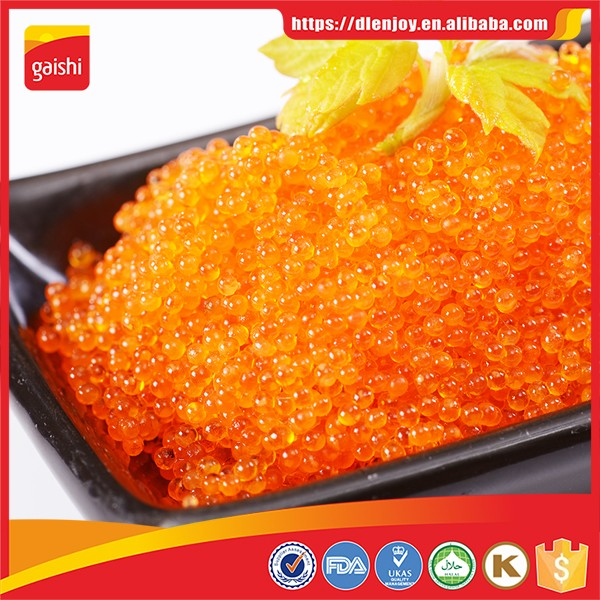 Tobiko Caviar Sushi Grade,Tobiko Flying Fish Roe Tobiko Caviar With 5  Different Colors With Good Price - Buy Tobiko,Iqf Tobiko,Sushi Iqf Tobiko