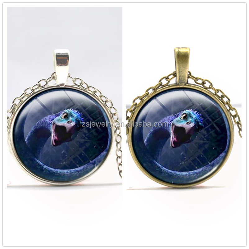 Fashion Harry Film Alloy Time Stone Pendant Chain Necklace Wholesale