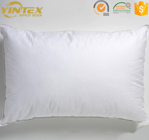 China supplier massage anti dust mite breathable anti-snore sleeping polyester rest pillow