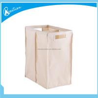 large capacity canvas storage basket