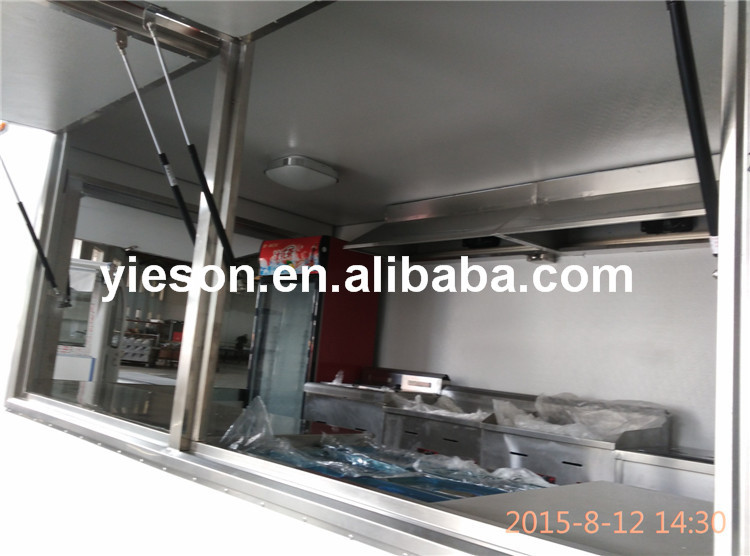 Fully Equipped concession food trailer for sale