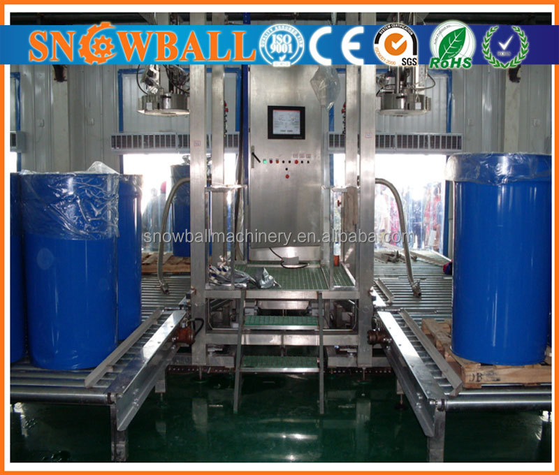 1000L bag in box Diced Guava Pulp Aseptic Filling Machine