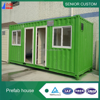 Cheap mobile container house / family house / high quality fashion meeting room