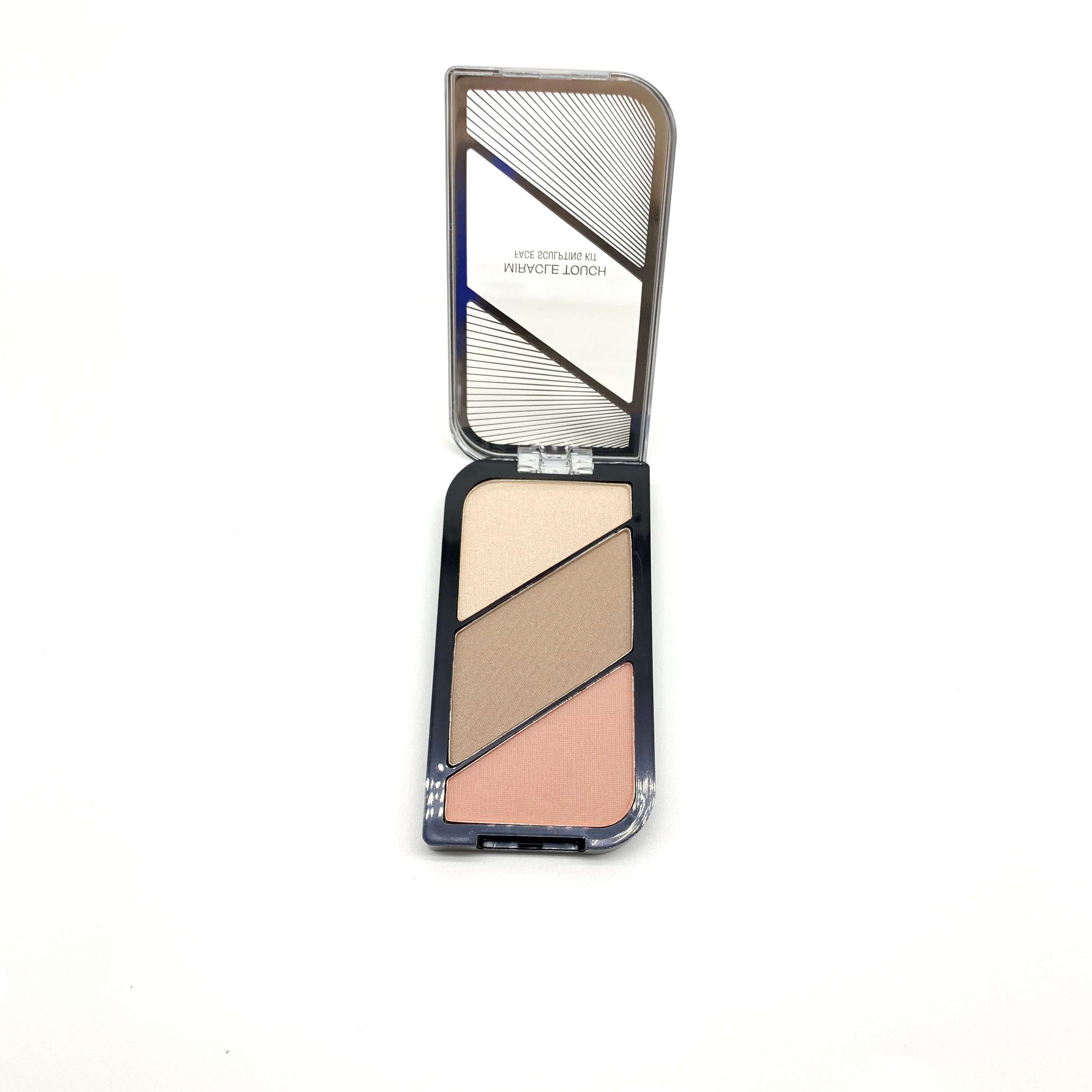 Custom Professional Shimmer Highlighter Contour Pressed Powder Makeup Highlighter Palette
