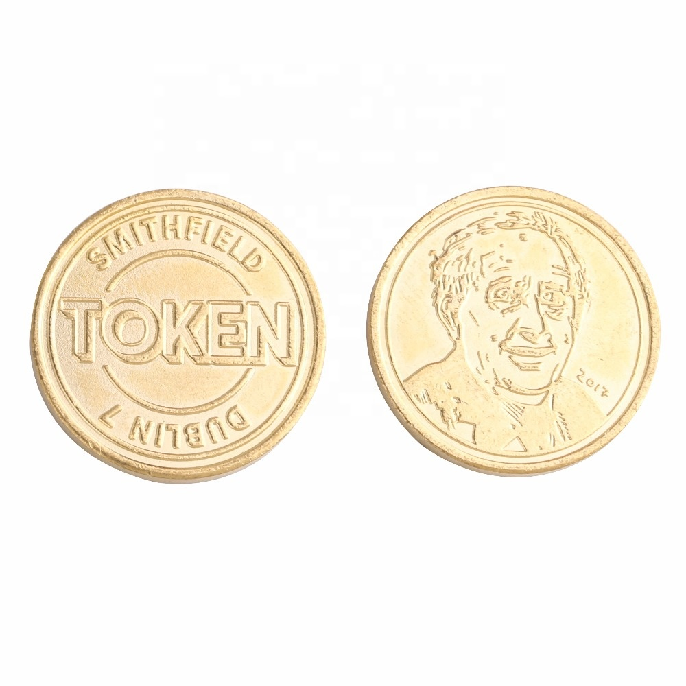 Zimbabwe 100 trillion Medal gold plated coins Badge commemorative coin Crafts
