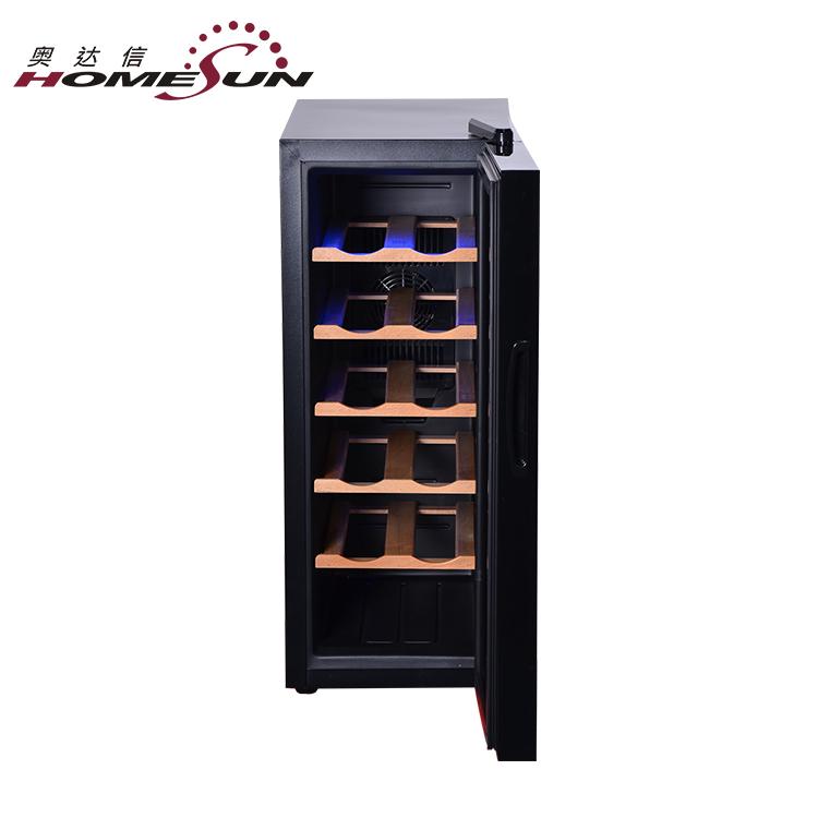 BCW-35 12 Garrafa de Vinho Rack De Refrigerador Termoelétrico De Armazenamento Frigorífico