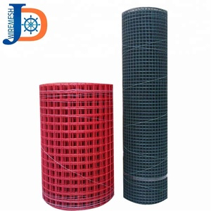 "1/4"" 1/2"" 3/4"" 1"" PVC vinyl coated welded wire mesh"