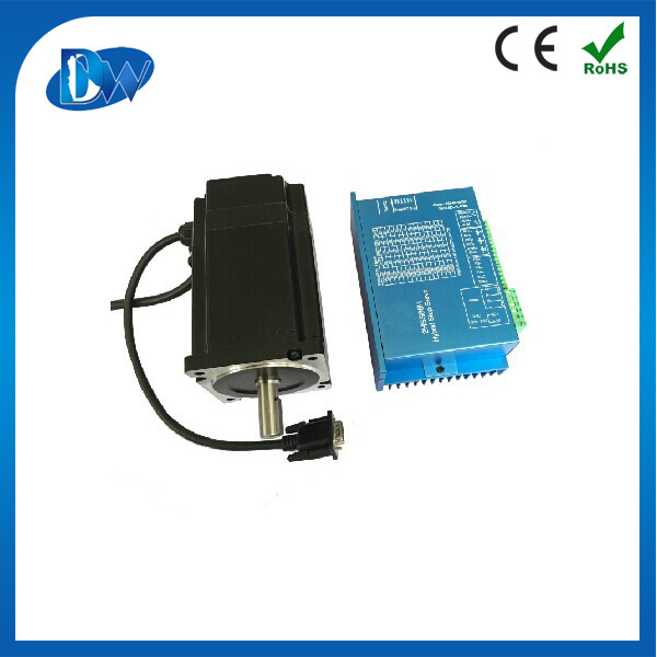 high quality best price nema34 micro servo stepper motor encoder ,close loop stepper motor
