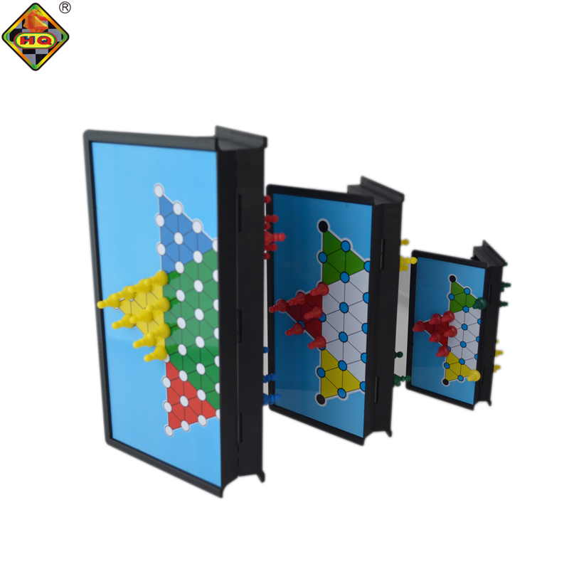 4 in 1 magnetic chinese chequeres board <strong>games</strong> with ludo dominoes playing cards