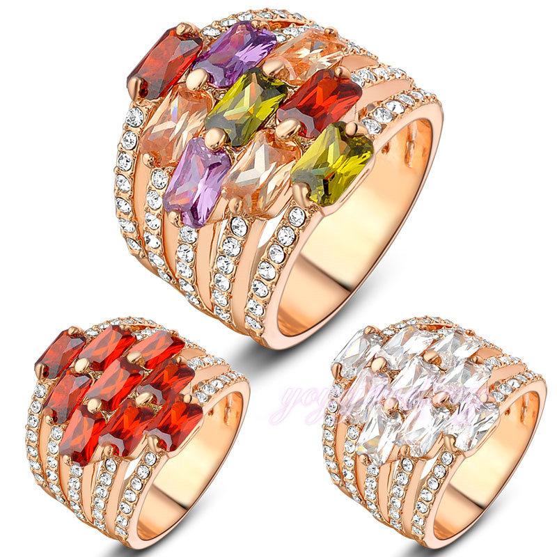 Red stone saidi gold jewelry fancy design dubai gold ring designs ...