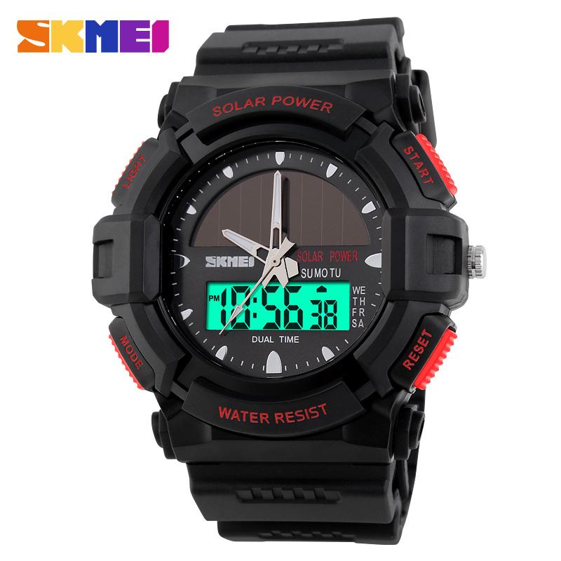 4874173d484 Skmei ocio relogios exterior resistente dial grande Reloj Solar Vogue  hombres impermeable personalizado