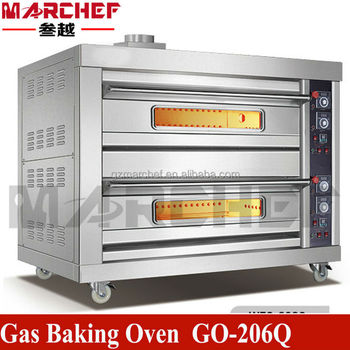 Restaurant Kitchen Oven eo-204d.double deck four trays commercial restaurant kitchen