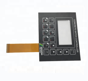 Hot ! new sale custom embossed button membrane switch with 3M adhesive and metal dome led inside for electronic switch