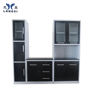 Melamine factory price plastic kitchen cabinet
