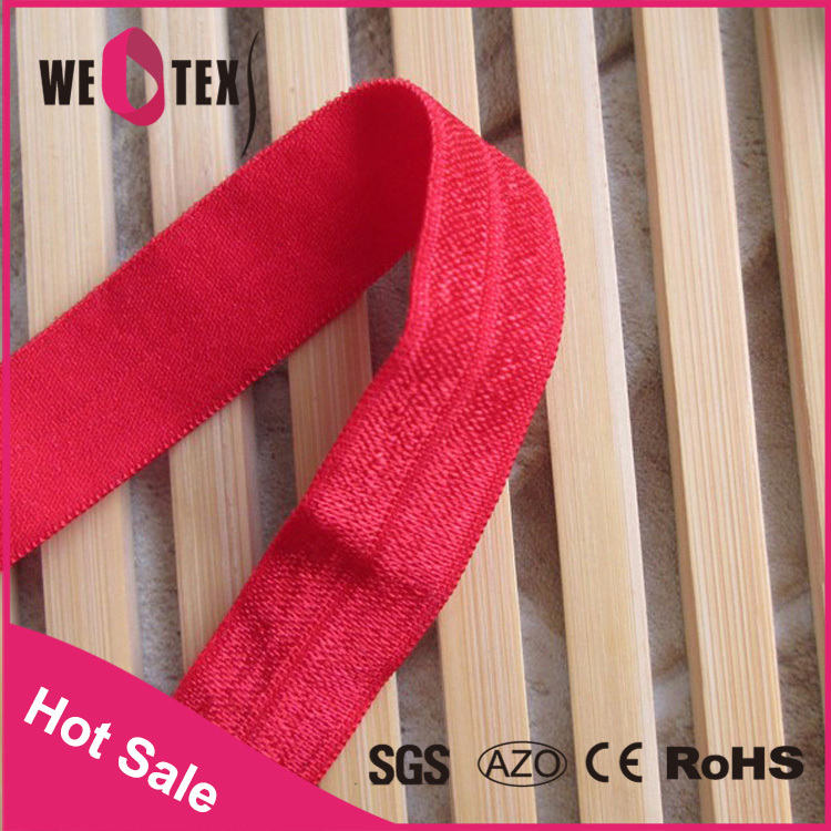 1 Inch fold over elastic webbing supplier