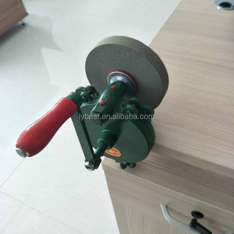 Awe Inspiring Low Price Portable Hand Bench Grinder Hand Crank With Abrasive Grinding Wheel Buy Hand Bench Grinder Low Price Hand Bench Grinder Hand Bench Gmtry Best Dining Table And Chair Ideas Images Gmtryco