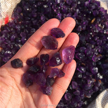 High Quality Natural Brazil Amethyst Crystal Rough Stone