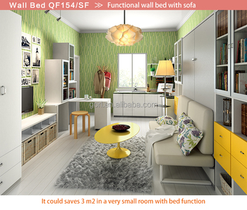 Gorl Furniture Cheap Price Murphy Wall Bedpull Down Wall Bed