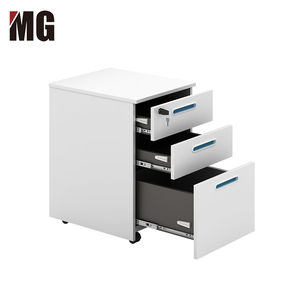 Office And Home Use MDF Wood Short File Mobile Shelving Cabinet Manufacturer