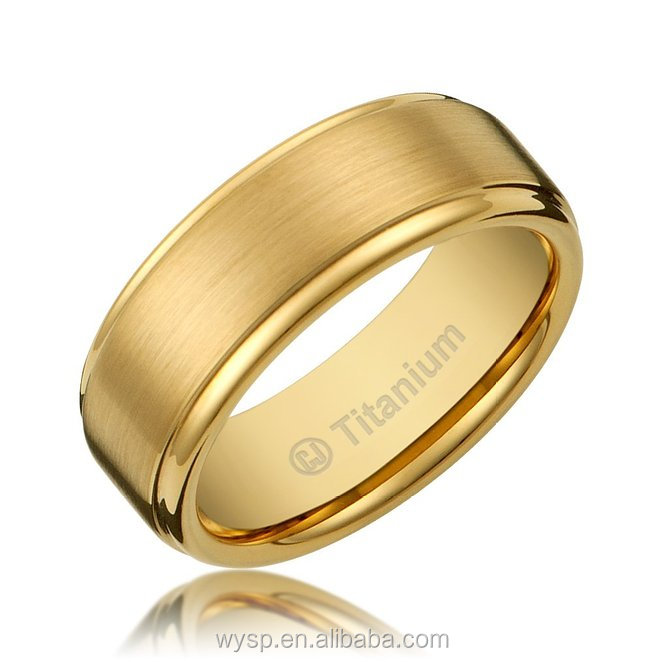 2018 Fashion Mens stainless Steel Jewelry Dubai Zircon Rings Gold 18k In China Cheap Price