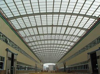 Galvanized Steel Roof Waterproof Shed Steel Structure Workshop