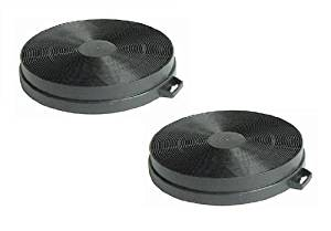 First4Spares Carbon Charcoal Filters For Smeg K2 Cooker Extractor Hoods Pack of 2