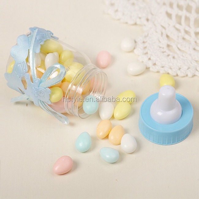Baby Shower Favors Bottle Candy Chocolate Bottles Box For Girl Boy Baby Shower Party Favors Gifts Decorations12PCS SPT140
