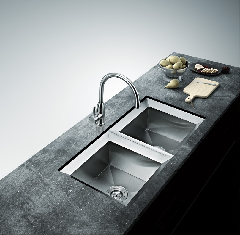 Installation Stainless Steel Kitchen Sink Without Clips