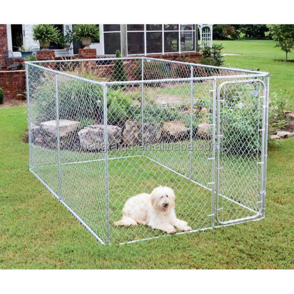 Chain Link Animal and Pet Dog Run Kennels