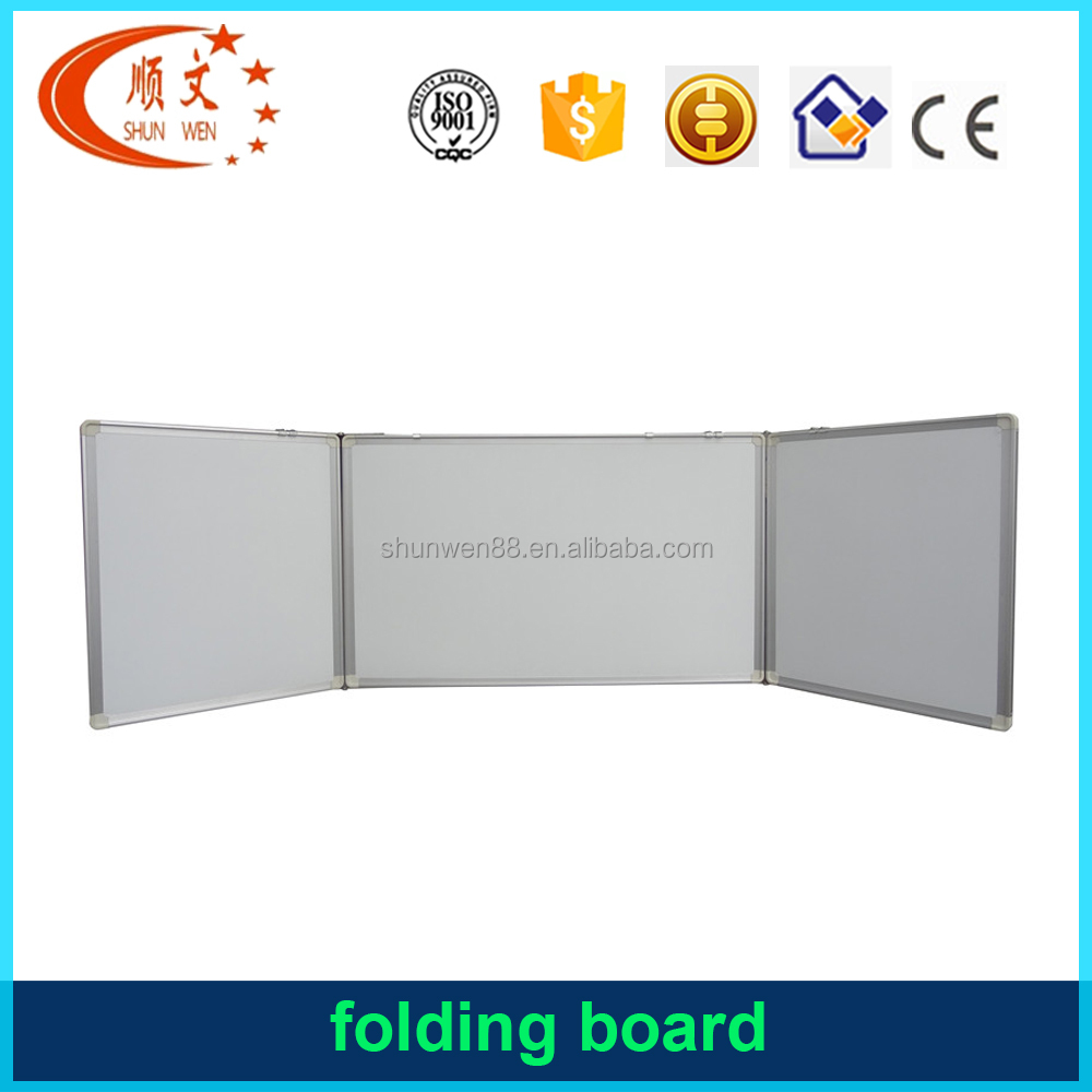 folding drawing board magnetic whiteboard folding spine board dry erase whiteboard folding iron board cabinet