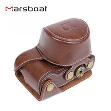 PU leather Camera Bag Case Cover Pouch For Camera Model A5000 A5100 NEX 3N